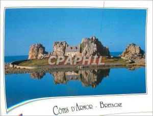 Postcard Modern Cotes d'Armor Bretagne