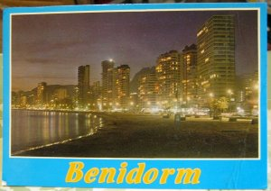 Spain Benidorm Playa de Levante - posted 1990
