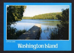 WI Little Lake Washington Island Door Ct County Wisconsin Postcard PC