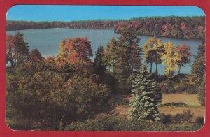 LAKE OF THE EAGLES, EAGLE MERE, PA.1951  (198)