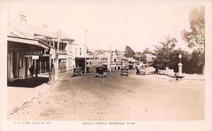Australia N.S.W. Mossvale, Argyle Street, Chemist, Auto, Cars
