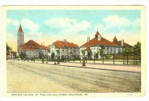 Goucher College, St. Paul & 23 Street, Baltimore, Maryland, 1900-1910s