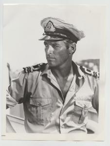 JAMES FRANCISCUS AS WW II US NAVY OFFICER 1978 CBS  PRESS PHOTO