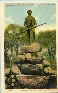MA - Lexington. Statue of Captain John Parker