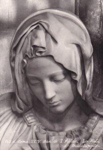 RP; ROMA, Lazio, Italy, 1930-1940s; S.C.V. Bas Di S. Pietro, La Pieta, Michel...