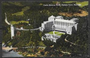 1954 Bermuda, Castle Harbour Hotel, Tuckers Town, mailed