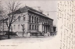 PROVIDENCE , Rhode Island , 1908 ; The Public Library