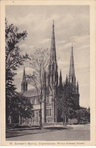 Canada Charlottetown St Dunstan's Basilica 1944 Prince Edward Island