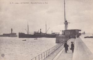LE HAVRE, Seine Maritime, France, 00-10s ; Nouvelle Entree du Port