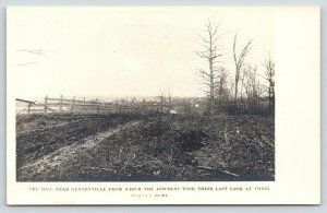 Gentryville (Lincoln City) IN~Spot Where Pres Lincoln Family Saw Home~RPPC c1925
