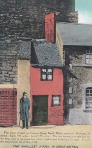 Conway Quay , North Wales , 00-10s ; The Smallest House in Great Britain
