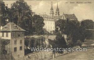 Basel Swizerland, Schweiz, Svizzera, Suisse Munster und Pfalz  Munster und Pfalz