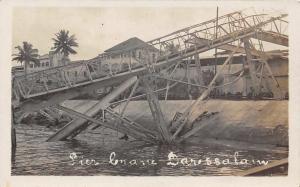 German East Africa, Tanzania Dar es Salaam, Daressalam Pier Crane