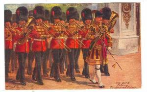 The Band entering Buckingham Palace, England, 00-10s AS: Harry PAYNE, Tuck #6412