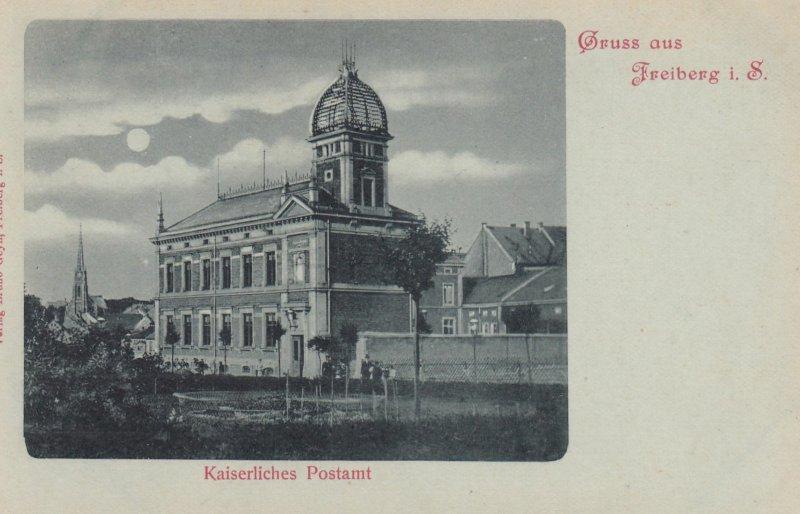 Gruss aus FREIBURG , Baden-Wurttemberg, Germany; 1890s ; Kaiserliches Postamt