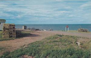 End Of The Road, Pigeon Hill, New Brunswick, Canada, 40-60s