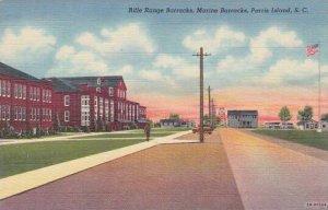 South Carolina Parris Island Rifle Range Barracks Marine Barracks
