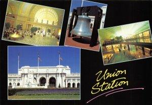 USA Multi View Postcard, Washington D.C, Union Train Railway Station GH4