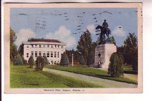 Statue, Building, Memorial Park, Calgary, Alberta, PECO