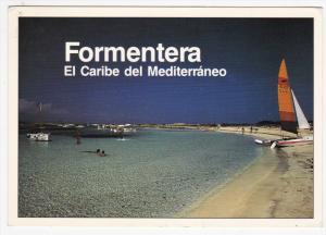 FORMENTERA, Spain, PU-1993; El Caribe Del Mediterraneo, Sail Boats