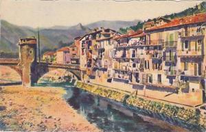 Vieilles Maisons Sur La Bevera, Environs De Nice (Alpes Maritimes), France, 1...