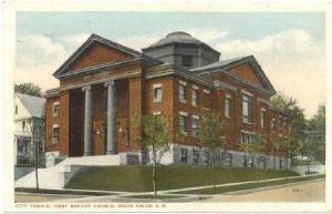 City Temple, First Baptist Church, Sioux Falls, South Dakota, PU-1916