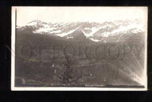 048443 UKRAINE Carpathian mountains Vintage PC #6