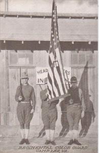 Regimental Color Guard , CAMP LEE , Virginia , 00-10s