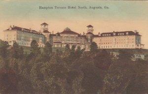 AUGUSTA , Georgia , 1909 , Hampton Terrace Hotel , North
