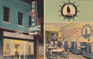 Florida Tallahassee The Seven Seas Restaurant Interior Views sk2226