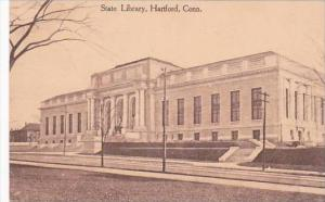 Connecticut Hartford State Library