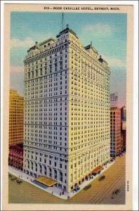 Book Cadillac Hotel, Detroit MI