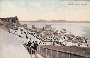 Winter View in  Quebec, Canada, 00-10s