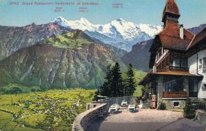 Switzerland Institut Ingenbohl mit Fronalpstock 01.59