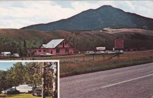 2-Views, Perry's Camper Park, Red Lodge, Montana, PU-1977