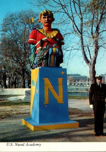 Maryland Annapolis Tecumseh Statue U S Naval Academy