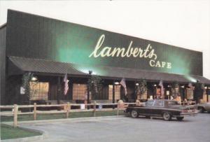 Lambert's Cafe, Home of THrowed Rolls, Sikeston, Missouri, 50-70´s