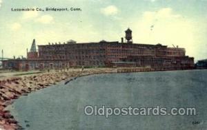 Locomobile Co Bridgeport, CT, USA Postcard Post Cards Old Vintage Antique Bri...