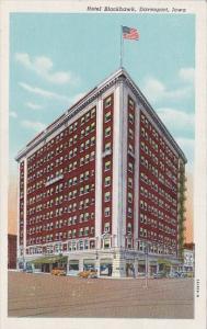 Hotel Blackhawk Davenport Iowa