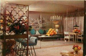 Crocker Hotel Sahara Mid Century Furniture Las Vegas Nevada Postcard 11046
