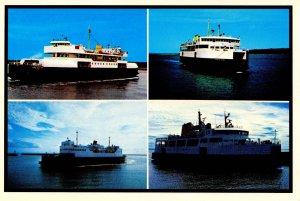 MVs Lord Selkirk, Prince Nova. Ferries Confederation, Prince Edward