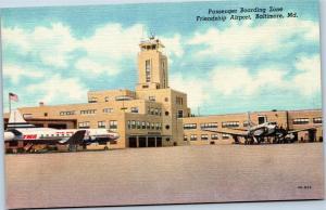 Friendship Airport - Passenger Boarding Zone - Baltimore Maryland