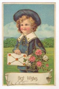 Boy in sailor's outfit, Best Wishes, 00-10s