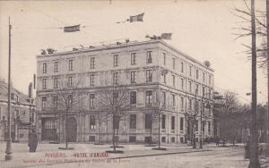 ANGERS (Maine Et Loire), France, 1900-1910s; Hotel d'Anjou