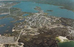 Aerial View Of The City Looking North, Yellowknife, N.W.T., Canada, 1940-1960s