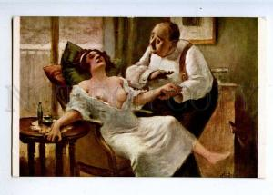 224818 FRANCE Guillaume Tantrum Lapina #857 Nude old postcard
