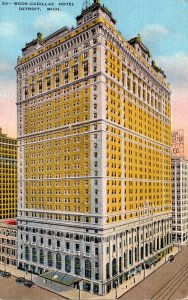 Michigan Detroit Book-Cadillac Hotel 1936