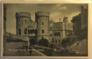 Old Postcard Norman Tower, Windsor Castle T. V. A. P. Oxford Series