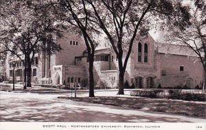 Scott Hall Northwestern University Evanston Illinois
