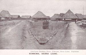 Grass houses of KENNEMA, Sierra Leona, 10-20s